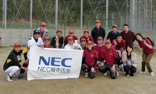NEC販売店対抗ソフトボール大会